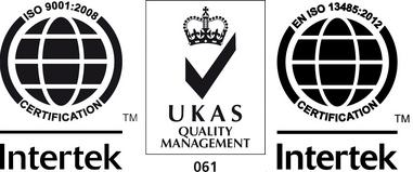 ISO 9001 ISO 13485 certificates